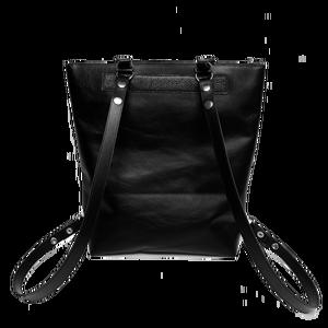 Lindy bag váll-hátitáska fekete bőr, táska (hegymegigabi) - Meska.hu