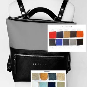 Tekla's bag hátitáska M-es méretben választott színben, Táska, Divat & Szépség, Táska, Hátizsák, TEKLA's hátitáska M-es méretben  Kérlek rendelésnél válaszd ki a cordura színét és a bőr zseb színét..., Meska