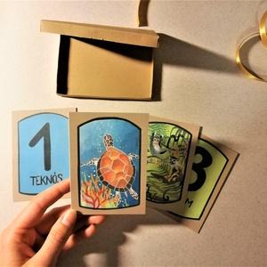 Kártya, Játék & Gyerek, Készségfejlesztő & Logikai játék, Fotó, grafika, rajz, illusztráció, Meska
