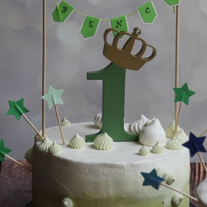 Első születésnapi dekoráció Tortadísz egy éves babának Hűtőmágnes tortadísz (hellodekorbolt) - Meska.hu