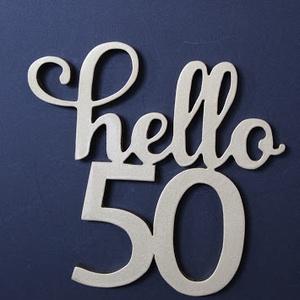 Hello 30, hello 50 születésnapi humoros tortadísz /hűtőmágnes Tortadekoráció Születésnapi tortadísz, Férfiaknak, Otthon & lakás, Dekoráció, Ünnepi dekoráció, Konyhafelszerelés, Hűtőmágnes, Famegmunkálás, Festett tárgyak, A nagy évfordulókra, különleges szülinapokra ajánlom ezt a vidám tortadíszt. \n\nFából készült festett..., Meska