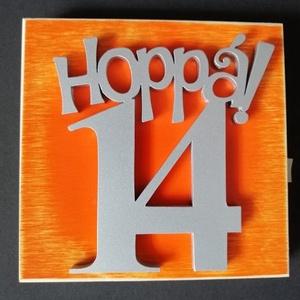 Hoppá 14, 14. születésnapi humoros tortadísz /hűtőmágnes Tortadekoráció Születésnapi tortadísz - otthon & lakás - konyhafelszerelés - sütidísz - Meska.hu