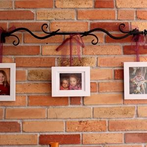 Fali dísz, kandalló dísz, Otthon & Lakás, Lakberendezés, Ezt a fali díszt családom részére készítettem először. A nappalinkban a komód fölött kapott helyet. ..., Meska