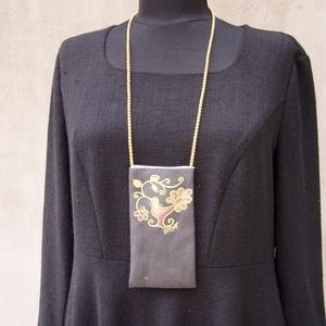 Madárdalos textil tarsoly (Hera) - Meska.hu