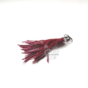 Piros gyöngy rojtos bojt fülbevaló, Ékszer, Fülbevaló, Ékszerkészítés, Gyöngyfűzés, gyöngyhímzés, Textil és gyöngy kollekcióm piros színű darabja.\nBohém rojtos fülbevaló amolyan HErás fazon. Ha szer..., Meska