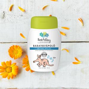 HerbArting körömvirágos baba testápoló 100 ML, Szépségápolás, Testápolás, Testápoló, Kozmetikum készítés, Mint minden HerbArting termékünk, természetesen a körömvirágos testápolónk is 100 %-ig természetes a..., Meska