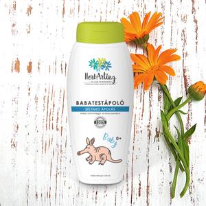 HerbArting körömvirágos baba testápoló 250 ML, Szépségápolás, Testápolás, Testápoló, Kozmetikum készítés, Mint minden HerbArting termékünk, természetesen a körömvirágos testápolónk is 100 %-ig természetes a..., Meska