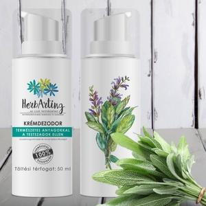 HerbArting krémdezodor 50ML, Szépségápolás, Dezodor & Parfüm, Kozmetikum készítés, Természetes anyagokkal a nem kívánt testszag ellen!\n\nMint minden HerbArting termék, a HerbArting kré..., Meska