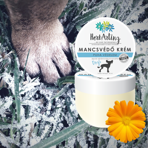 HerbArting Mancsvédő krém 50ML, Szépségápolás, Testápolás, Kéz- és lábápolás, Kozmetikum készítés, Hó és fagy? Maró hatású só? A HerbArting Mancsvédő krém 50ML csomag segít megóvni a kutyusod mancsát..., Meska