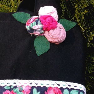 -50% ----- Shabby Rose Garden NIGHT. Shopper. (herisson) - Meska.hu