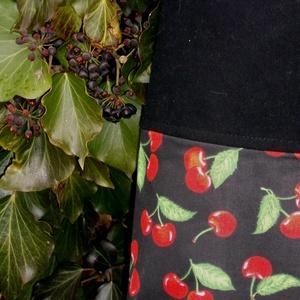 I LOVE COLOURS. Cseresznyés shopper. No.2. (herisson) - Meska.hu