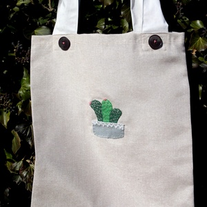 Kaktuszok. Shopper. No.4. (herisson) - Meska.hu