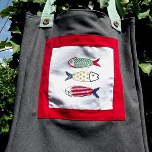 -25% ---> I LOVE COLOURS. Boho fish. Shopper. (herisson) - Meska.hu