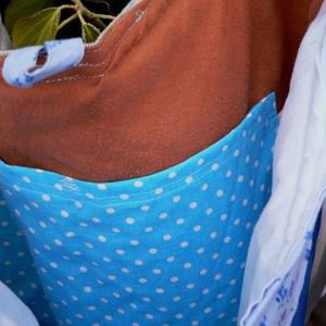 I LOVE COLOURS. Patchwork shopper bagoly-gombbal. (herisson) - Meska.hu