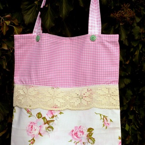 Granny's Rose Garden. Romantikus shopper.  (herisson) - Meska.hu