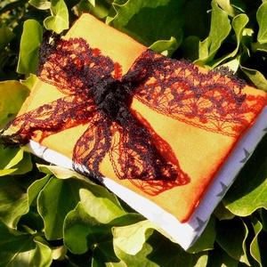 Levendula illatzsákok őszi/Halloween-es színvilágban, Otthon & Lakás, Illatzsák, Dekoráció, Hímzés, Varrás, Meska