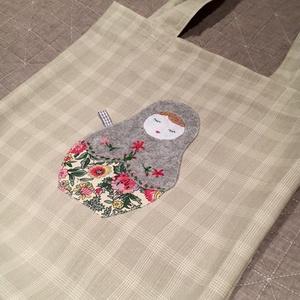 Tavaszváró matrjoskás shopper. (herisson) - Meska.hu