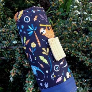 JUNGLE NIGHT. Egzotikus állatkás ceruzatekercs., Táska, Divat & Szépség, Táska, Gyerek & játék, Gyerekszoba, Tárolóeszköz - gyerekszobába, Varrás, 40 * 21 cm nagyságú ceruzatekercs,\n\nés a kedves esőerdő-lakóktól még a tanulás is öröm lesz! :)\n\n15 ..., Meska