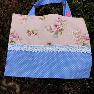 ENGLISH ROSE. Mini shopper . - táska & tok - bevásárlás & shopper táska - shopper, textiltáska, szatyor - Meska.hu