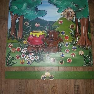 Óvodai megérkeztem tábla, Gyerek & játék, Dekoráció, Otthon & lakás, Festészet, Famegmunkálás, Óvodai jeles tábla egyedi elképzelés alapján készül.\nKampóval ellátott 1 cm vastag fenyőfából készül..., Meska