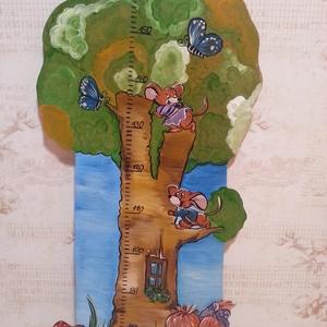 MAGASSÁGMÉRŐ, Gyerek & játék, Dekoráció, Otthon & lakás, Baba-mama kellék, Lakberendezés, Festészet, Famegmunkálás, Hermaresz dekor\n\n\nMesefigurás fali magasságmérő egyedi készítésű!\n\n\nFa alapanyagból készült egyedi f..., Meska