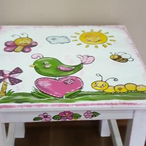 Asztalka  (hermareszdekor) - Meska.hu