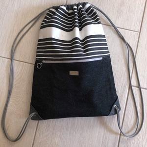 Gym bag összehúzós hátizsák (HEVERbags) - Meska.hu