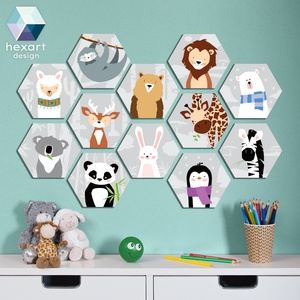 12 db-os babaszoba dekoráció, fali kép - választható állatokkal, Falra akasztható dekor, Dekoráció, Otthon & Lakás, Fotó, grafika, rajz, illusztráció, Hexart Design - Az okos dekoráció\nNincs szükség keretre / Kasírozott habkarton / Egy mozdulattal fel..., Meska