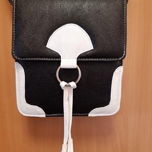 Bojtos válltáska, Táska & Tok, Vállon átvethető táska, Kézitáska & válltáska, Varrás, Bőrművesség, Meska