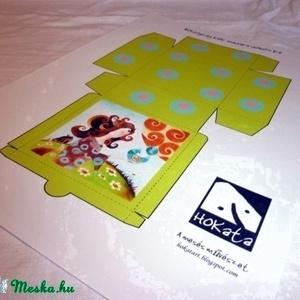 Boldogság kék madara dobozka- 3D (Hokata) - Meska.hu