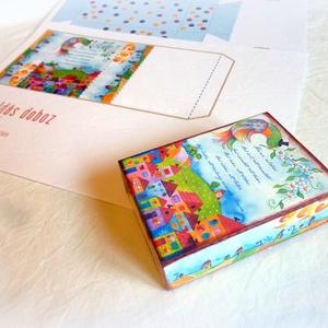 Házi áldás doboz- nyomtatható (Hokata) - Meska.hu