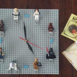 Star Wars  Falióra levehető figurákkal , Mindenmás, Mindenmás, Star-Wars  Falióra levehető figurákkal leírása: Tökéletes ajándék minden gyereknek vagy felnőttnek ..., Meska