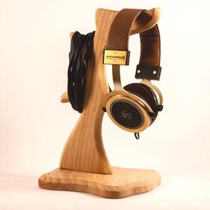 Fejhallgató tartó, fülhallgató tartó, Férfiaknak, Otthon & lakás, Lakberendezés, Tárolóeszköz, Famegmunkálás, Kőrisfából készült fejhallgató tartó. \nMérete:30x16x15cm\nA kép minta. Rendelésre készül.\n\n\n\n\n..., Meska