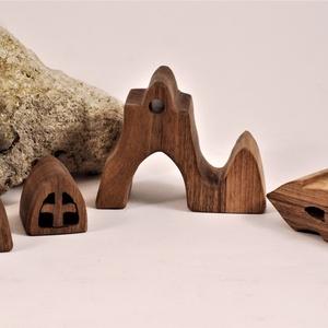 fa építő, fa templom (hollossybela) - Meska.hu
