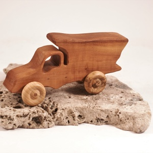 Játék fa autó, fakocsi, teherautó - játék & gyerek - húzó & tolójátékok - Meska.hu
