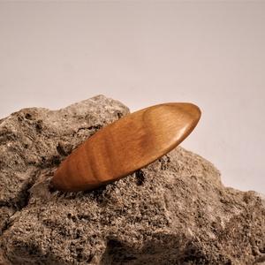 Mini fa franciacsat, hajcsat, Ékszer, Ékszerkészítés, Famegmunkálás, Meska