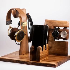 2 Mobil-, szemüveg-, fejhallgató, 2 óra-, toll tartó, asztali rendező - Meska.hu