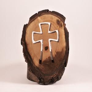 Fakereszt, kereszt, fali dísz  - otthon & lakás - spiritualitás & vallás - kereszt - Meska.hu
