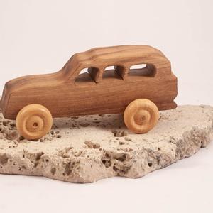 Játék fa autó, fakocsi, terepjáró, Játék & Gyerek, Húzó & Tolójátékok, Famegmunkálás, Meska