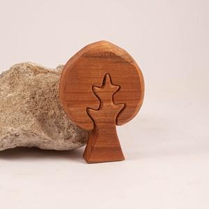 Fa fa, fa építő, kirakó, Játék & Gyerek, Építőjáték, Famegmunkálás, Meska