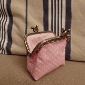 Minnie Maus tárca fémkerettel (HollyH) - Meska.hu