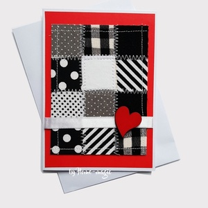 Kézzel készült képeslap, üdvözlőlap, ajándékkísérő - borítékkal , Otthon & Lakás, Papír írószer, Képeslap & Levélpapír, Papírművészet, Kézzel készült képeslap, üdvözlőlap, ajándékkísérő \nHozzá illő borítékkal együtt küldöm, celofán cso..., Meska