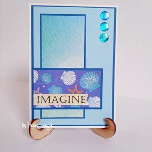 Kézzel készült képeslap, üdvözlőlap, ajándékkísérő - borítékkal, névnapi, születésnapi, anyák napi, pénzátadó - Meska.hu