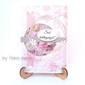Kézzel készült képeslap, üdvözlőlap, ajándékkísérő - borítékkal, esküvői pénzátadó, esküvőre ajándék, Otthon & Lakás, Papír írószer, Képeslap & Levélpapír, Papírművészet, Kézzel készült képeslap, üdvözlőlap, ajándékkísérő, esküvői pénzátadó, esküvőre ajándék\nHozzá illő b..., Meska