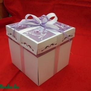 Esküvői pénzátadó doboz (Honoria) - Meska.hu
