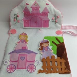 Hercegnők - játszó táska- Hercegnőknek!!! (Honoria) - Meska.hu