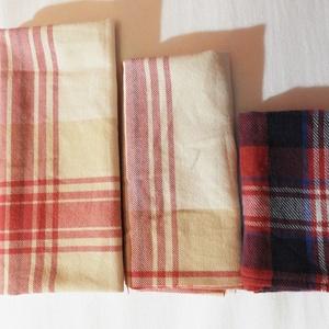 Textil zsebkendő szett, Egészségmegőrzés, Szépségápolás, Varrás, Ha szeretnél visszatérni a hagyományos textil zsebkendő használatára, vagy a készleted szeretnéd kic..., Meska