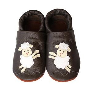 Hopphopp puhatalpú cipő - Báránykás, Gyerek & játék, Táska, Divat & Szépség, Cipő, papucs, Varrás, A cipők természetes, puha, minőségi bőrből készülnek, melyek ideálisak a járni tanuló babáknak, vagy..., Meska