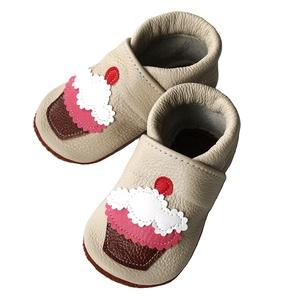 Hopphopp puhatalpú cipő - Muffin/Bézs (Hopphopp) - Meska.hu