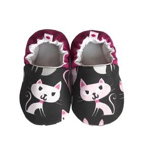 Cicás II. kocsicipő, Gyerek & játék, Táska, Divat & Szépség, Cipő, papucs, Varrás, 16-19-es méretben rendelhetők a cipőcskék, kívül-belül pamutból készülnek, illetve a két réteg közé ..., Meska